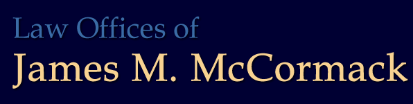 Law Offices of James M. McCormack logo